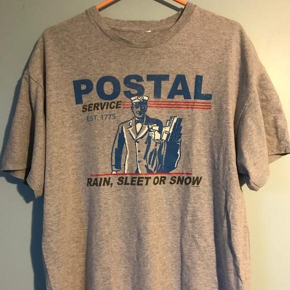 Shirts Postal Service Tshirt Poshmark